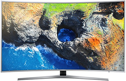 Samsung UE55MU6509 138 cm (55 Zoll) Curved Fernseher (Ultra HD, HDR, Triple Tuner, Smart TV) (4k-hd-55 Tv Samsung In)