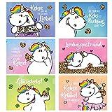 Pummeleinhorn - Postkarten Set Nr. 5, mit Duft, 6 tlg.