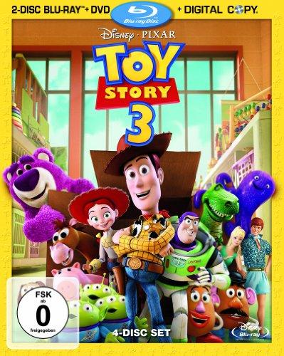 Preisvergleich Produktbild Toy Story 3 (2-Disc Blu-ray + DVD + Digital Copy) [Blu-ray]
