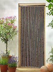 Holzperlenvorhang