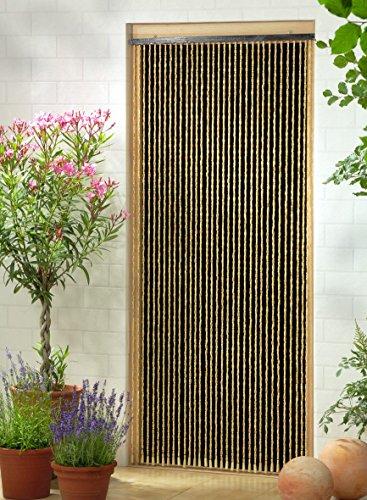Holzperlenvorhang Perlenvorhang Türvorhang 'Sumatra' ca. 90x200cm (BxH)