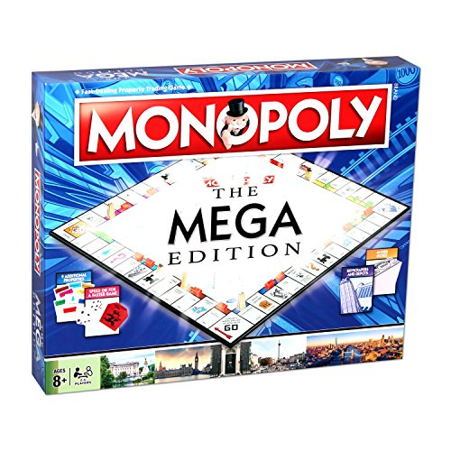Winning Moves Mega Monopoly Spiel - Zug-depot Spielzeug