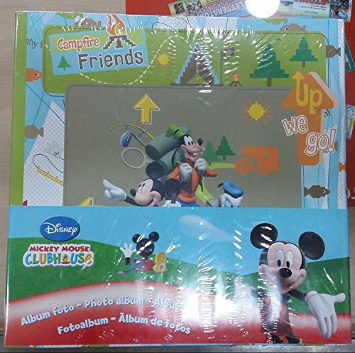 Album foto mickey mouse 28 x 27,5 x 3,5 cm f.to 13x20 + memo (100 foto) con custodia esterna