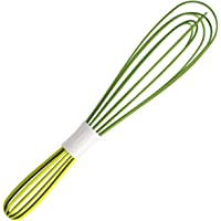 Chef  39 n Frusta Doppia  Silicone  Verde  Panna