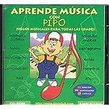 Aprende musica con pipo (CD-rom)(+2 años)