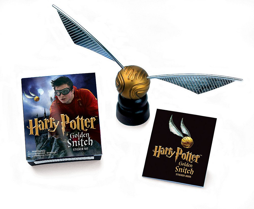 617JHHhbb3L - Harry Potter Golden Snitch Sticker Kit (Miniature Editions Kit)
