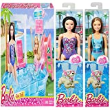 Barbie Glam Pool For Barbie With Raquelle And Summer Doll Toy Bundle