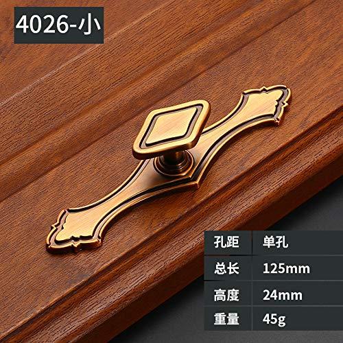 Neue Chinesischen stil mahagoni möbel schranktürgriff antikes kupfer schubladenschrank schranktür zubehör hardware Z4026-kleinen streifen (einschließlich einlochmontage) (Akazie) - Stil Mahagoni Schreibtisch