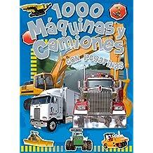 1000 Máquinas y camiones (1000 Pegatinas)