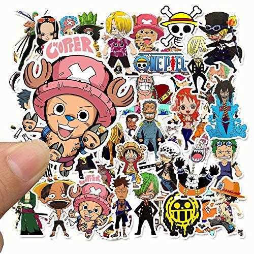 50 One Piece One Piece Pegatinas De Dibujos Animados