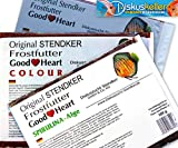 Stendker Frostfutter Sparpaket 10 x GoodHeart Mix (normal/Colour/SPIRULINA) Diskusfutter: 500g Flachtafel Sparpaket