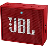 JBL GO Portable Bluetooth Speaker - Red, JBLGORED