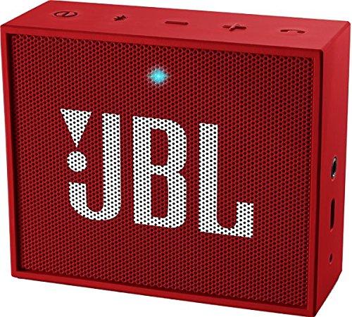 Bluetooth Lautsprecher Tablet (JBL Go Ultra Wireless Bluetooth Lautsprecher (3,5 mm AUX-Eingang, geeignet für Apple iOS und Android Smartphones, Tablets und MP3 geräten) rot)