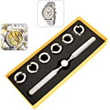 TMISHION Kit di Riparazione Orologi Professionale, Rolex Oyster Key Repair Tool Set,Apricasse per Orologio Professionale per
