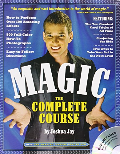 Magic the Complete Course (Book & DVD) por Joshua Jay