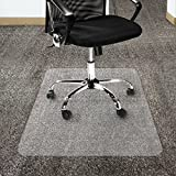 etm® Polycarbonate Non Slip Clear Chair Mat for High Pile Carpets | Studded Backing | 75x120cm | 4 Sizes