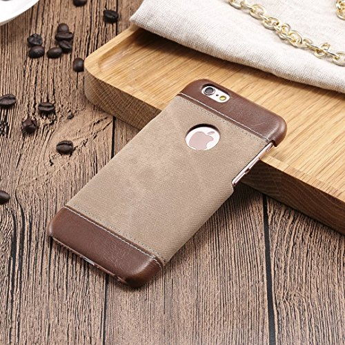 Wkae Case Cover iPhone 6 / 6s Cover, Fashion Mix and Match Cover Case couleur, Cowboys Jeans Motif Hard Cover pour by DIEBELLEU ( Color : Brown , Size : IPHONE 6/6S ) Brown