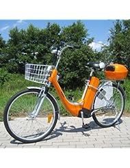 City Bike Vélo électrique E-bike 36V Traction électrique 250W électrique Bike Orange