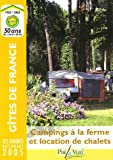 Campings à la ferme et location de chalets...