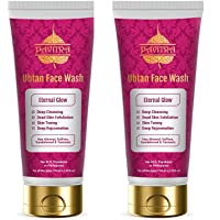 Pavitra+ Ubtan Glow Face wash with Almond, Saffron and Sandalwood 100ml Combo