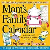 Mom's Family Calendar 2017