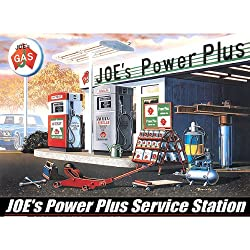 Academy Joe's Power Plus Service Station