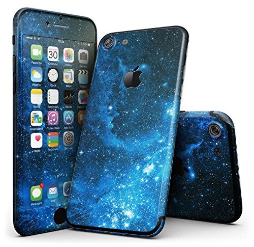 GADGETS WRAP Apple iPhone 7 Printed Skin – Blue HUE Nebula