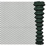 Valla de malla 2 X 15 m verde
