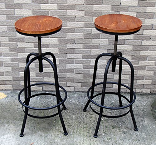 2-x-sundelyr-retro-vintage-nordic-style-wooden-metal-bar-stool-high-tall-seat-barstool-for-office-ki