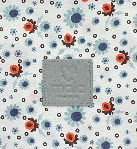 Pelle mala CARA Collection borsa / raccoglitore 3266_73 Grey grigio