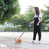 Hemore Hundeleine, einziehbar, 8 m, 50 kg, für große Hunde, mit LED-Haustierzubehör