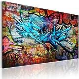 murando - Bilder 120x80 cm Vlies Leinwandbild 1 TLG Kunstdruck modern Wandbilder XXL Wanddekoration Design Wand Bild - Graffiti 020105-11