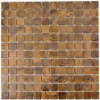 Mosaik Fliese Kupfer Kupfer Braun Für WAND BAD WC DUSCHE KÜCHE  FLIESENSPIEGEL THEKENVERKLEIDUNG BADEWANNENVERKLEIDUNG Mosaikmatte  Mosaikplatte