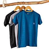 Schoolay - Classic Stripes Embossed Tee - Pack of 3
