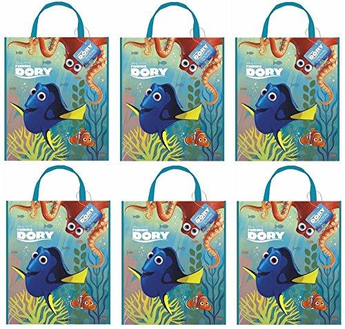 det Dory Nemo für Kindergeburtstag oder Mottoparty Kinder Geburtstag Party Mitgebsel Tüten Geschenktüten Motto Dory Fische Meer Disney Pixar (Findet Nemo Geburtstags-dekorationen)