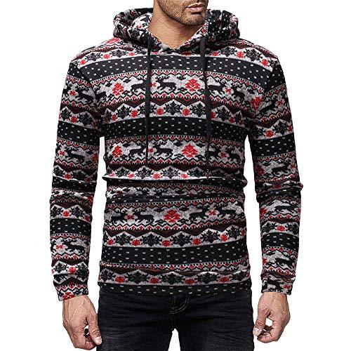 (Yvelands Herren Weihnachtpullover Herren Damen Pullover Weihnachten Jumper Tops Sweatshirts Bluse)