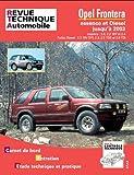 RTA, n° 369 : Opel Frontera, Essence et Diesel jusqu'à 2003