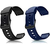 Letsfit ID205L Smartwatch Ersatz Armbänder, verstellbare Smartwatch Ersatzbänder für ID205L Fitness Armbanduhr, mit 2er…
