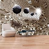 murando - Fototapete 250x175 cm - Vlies Tapete - Moderne Wanddeko - Design Tapete - Wandtapete - Wand Dekoration - Puzzle Abstrakt a-A-0190-a-b