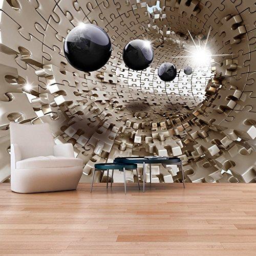 murando – Fototapete 350×245 cm – Vlies Tapete – Moderne Wanddeko – Design Tapete – Wandtapete – Wand Dekoration – Puzzle Abstrakt a-A-0190-a-b