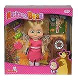 Simba 109308239 - Mascha und der Bär - Mascha Puppe als Fee