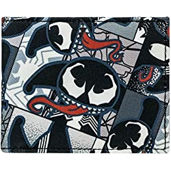 Marvel – Cartera kawaii Venom Sublimated Bi-Fold nuevo oficial Gifts mw2 N2lmkw