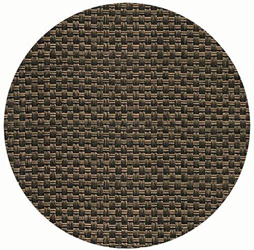 Werzalit Tischplatte, Dekor Rattan Mocca 70 cm rund wetterfest Ersatztischplatte Bistrotisch...