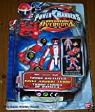 Power Rangers Operation Overdrive Red Turbo Battlised power ranger figure