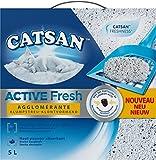 Catsan Active Fresh Litière Agglomérante pour Chat - Contrôle des Odeurs - 5 L