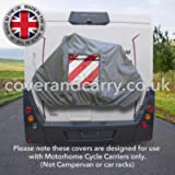 Deluxe Motorhome Bike Rack Cover 2-3 Cycles, made in the UK, a little more money a lot more quality!!