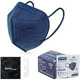25 st. FFP2 Masker + Antiseptisch Omhulsel + verstellers | CN Ultra Protection, CE-goedgekeurd | wegwerp - niet herbruikbaar