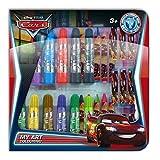 Disney 0283015 Cars Malset Kinder-Bastelsets, 51 teilig, rot