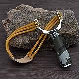 Generic Outdoor Sling Shot Aluminium Alloy Slingshot Bow Catapult