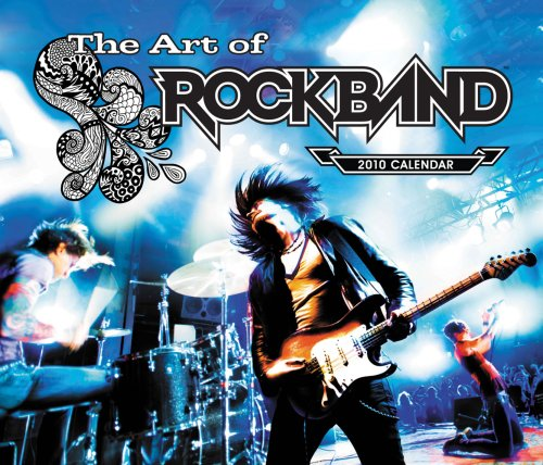 The Art of Rock Band 2010 Wall Calendar